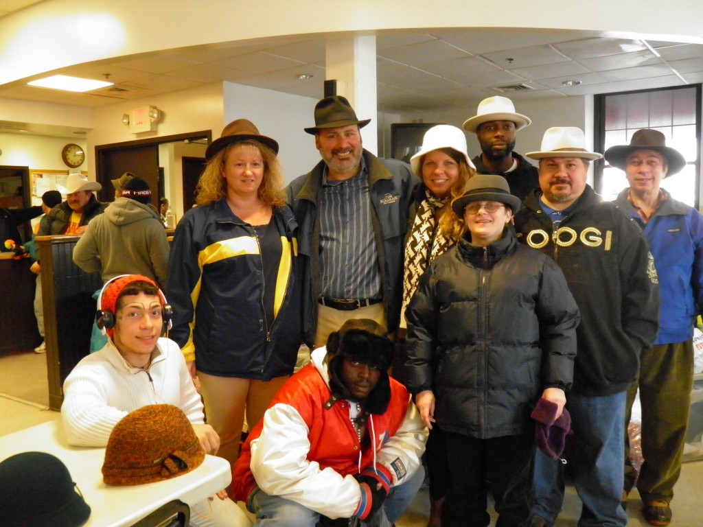 Bollman Hats - Hats for the Homeless 12.18.13 015