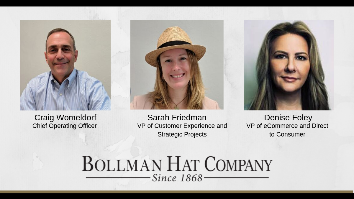 Bollman Hat Company Announces New Management Updates