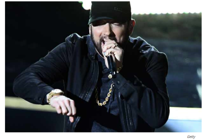 Eminem wears Kangol cap at 92nd Academy Awards
